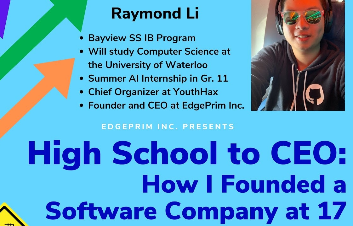 High School to CEO: How I Founded a Software Company at 17